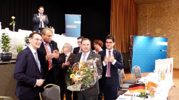 CDU kürt Volker Nielsen